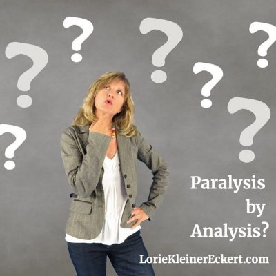 My Brand of Decision-Making: Paralysis by Analysis?