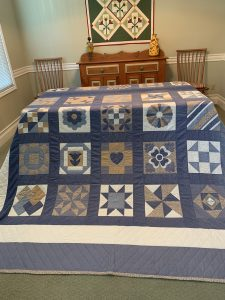 King Size Sampler Quilt