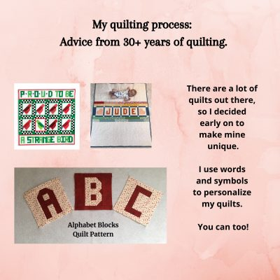 Ideas For Personalizing Your Quilts