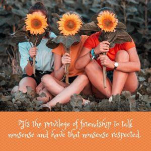 The Privilege of Friendship