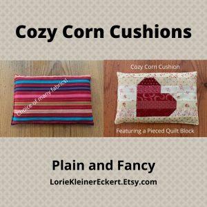 Cozy Corn Cushions
